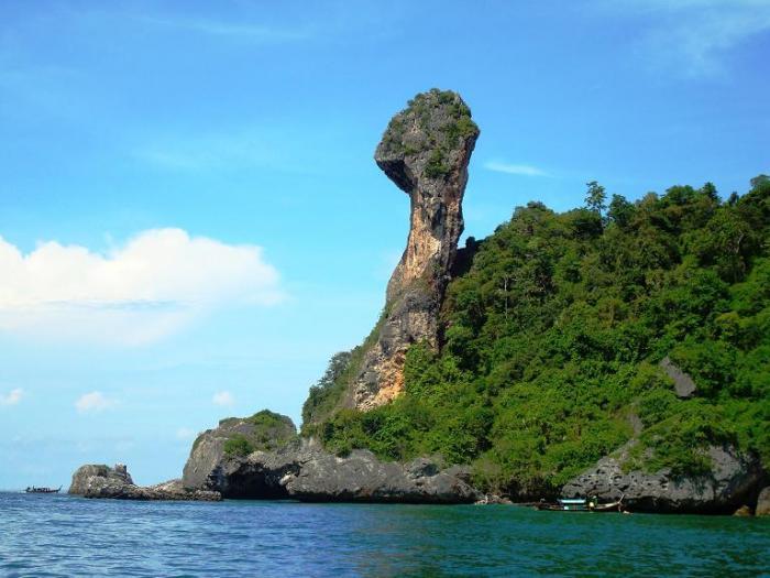 เที่ยวกระบี่ 4 เกาะ โดยเรือสปีดโบ๊ท (เดินทางจากกระบี่)