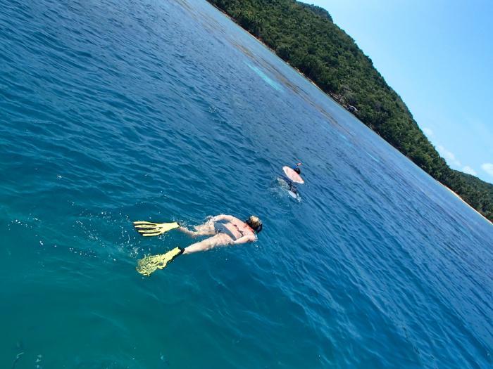 มหัศจรรย์หมู่เกาะทะเลใต้ ดำน้ำดูปะการัง เกาะแตน