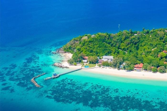 เกาะรายา+เกาะเฮ+เกาะไม้ท่อน โดยเรือสปีดโบ๊ท
