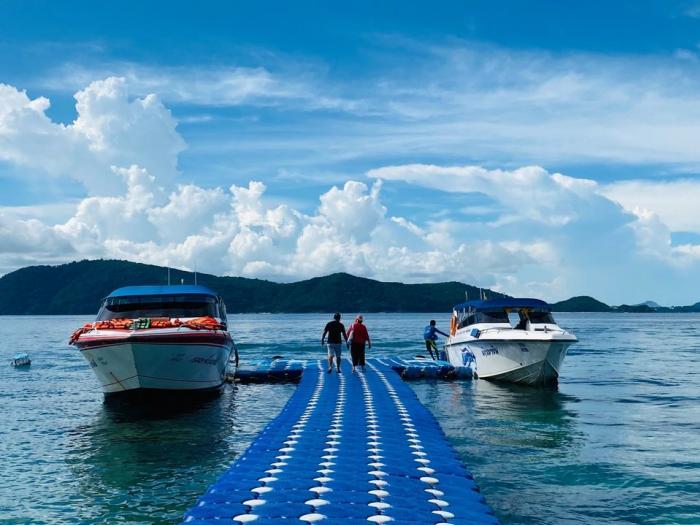 กาฮังบีช(เกาะเฮ) โดยเรือสปีดโบ๊ท