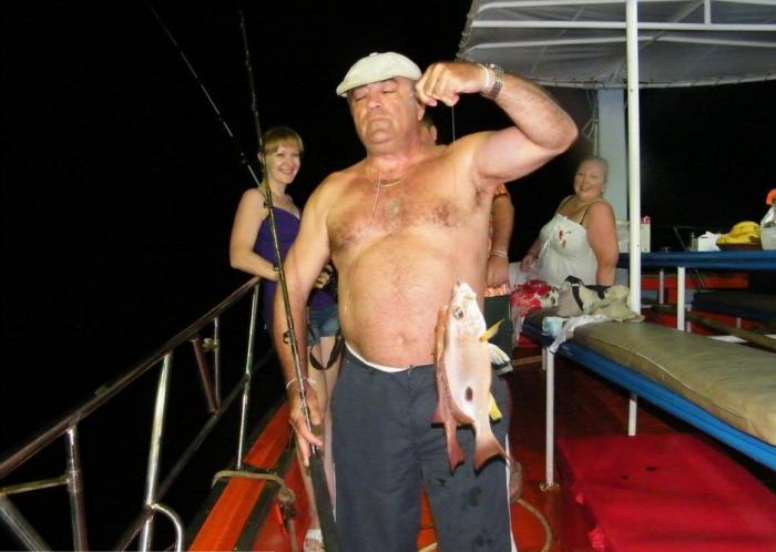 ทริป ตกปลากลางคืน (เกาะสมุย)