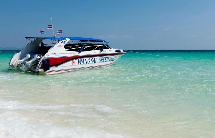 ทัวร์เกาะพีพี โดยเรือสปีดโบ๊ท เดินทางจากกระบี่ (วังทรายสปีดโบ๊ท)