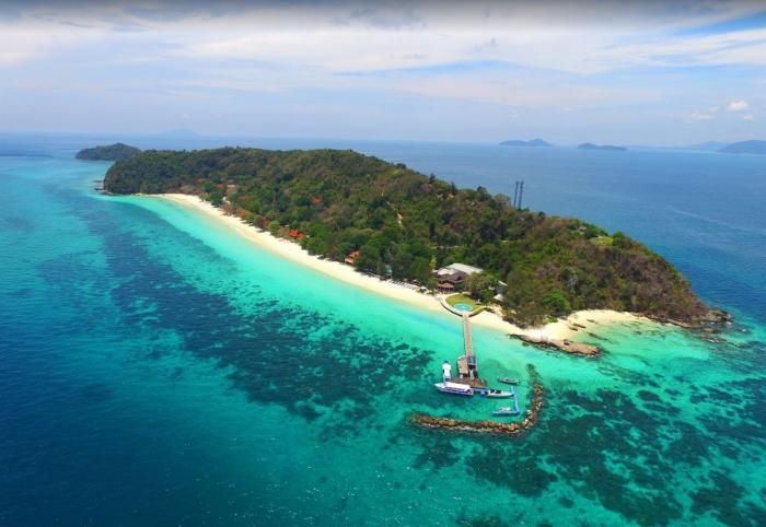 เกาะราชาน้อย + เกาะราชาใหญ่ + ดูโลมาเกาะไม้ท่อน โดยเรือสปีดโบ๊ท (ซีสตาร์)
