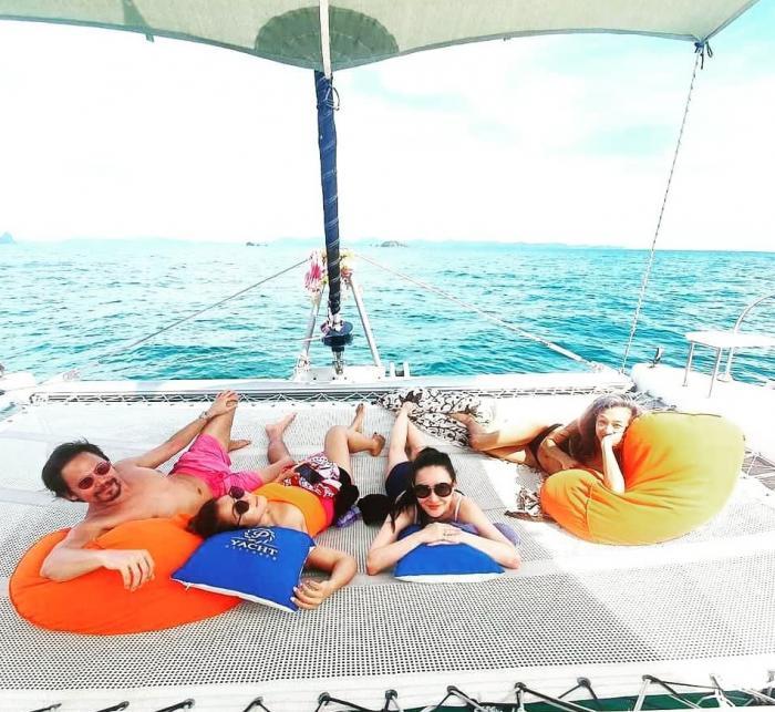 เหมาลำ - กาฮังบีช(เกาะเฮ) โดยเรือเซลลิ่งยอร์ช คาตามารัน