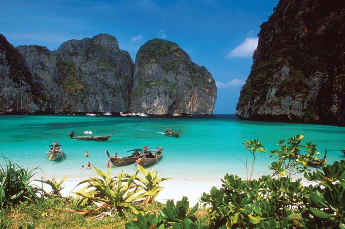 เที่ยว เกาะพีพี + เกาะไข่ โดยเรือสปีดโบ๊ท  (ซีแองเจิ้ล)